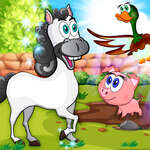 Learning Farm Animals Educational Games For Kids