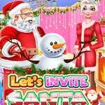 Lets Invite Santa game