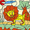 Little lion coloring game