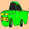 Poco colorante de coche viejo juego