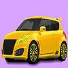 игра Маленький семейный автомобиль раскраски