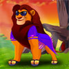 Lion Dress up game