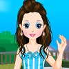 Little Girl Eva Dressup joc
