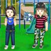 Hermano y hermana juego