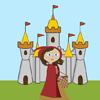 Малката Червена езда Худ WordSearch игра