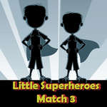 Little Superheroes Match 3 jeu
