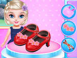 Little Princess Fashion Schoenen Design spel