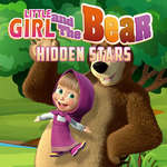 Little Girl and the Bear Hidden Stars game