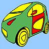 Colorear taxi largo juego