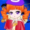 Chica encantadora Halloween juego