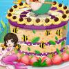 Gâteau de la belle sirène jeu