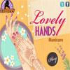 Manicura de manos hermosa juego