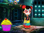 Lovable Halloween Girl Escape game