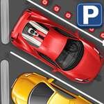 Low Polly Car Parking 2D game