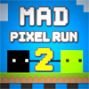 Mad Pixel Run 2 game