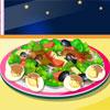 игра Сделать семьи салат
