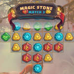 Magic Stone Match 3 Deluxe gioco