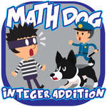 Math Dog Integer Addition Spiel