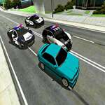 Mad Cop Police Car Race Police Car vs Gangster Escape game