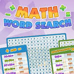 Recherche de mots mathématiques jeu