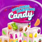 Махджонг размери бонбони 640 секунди игра