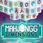 Mahjongg Dimensions 350 seconds game