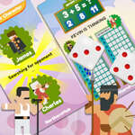 Math And Dice Kids Educational Game игра