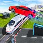Maravillosa carretera coche Stunt Ramp Car Stunt Race juego