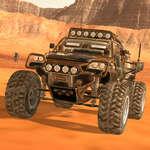 Mars-Fahren Spiel