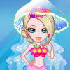 Meerjungfrau Bride Dress Up Spiel