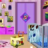 Chaotisch Baby Room Escape Spiel