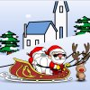 Merry Christmas Snowfight jeu