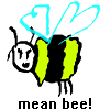Mean Bee game