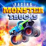 Mega Truck Race Monster Truck Racing Jeu jeu