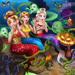 Zeemeermin Haunted House spel