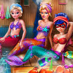 Mermaids Sauna Realife game