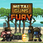Metal Guns Fury schlagen em up Spiel