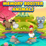 Memory Booster Animals game
