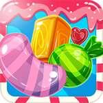 Fusionner Candy Saga jeu