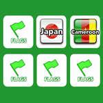Memória zászlókkal játék