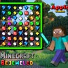 Minecraft Bejeweled hra