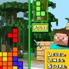 Minecraft Tetris game