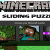 Minecraft Sliding Puzzle game