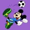 Mickey Mouse kleuren spel