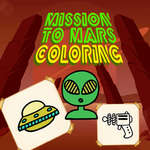 Mission to Mars Coloring game