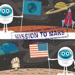 Différences de la mission vers Mars jeu
