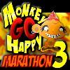 игра Обезьяна идти счастливы марафон 3