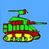 игра Современный военный танк окраски