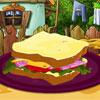 Сутрин сандвич декорация игра