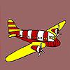 Para colorear jet moderno juego